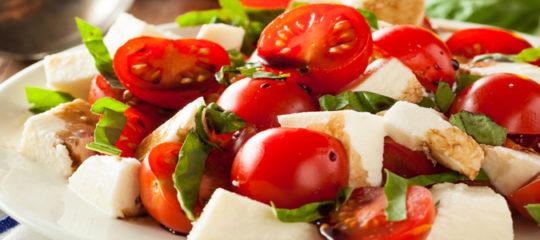 Commander des salades italiennes